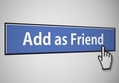 להוסיף חבר בפייסבוק